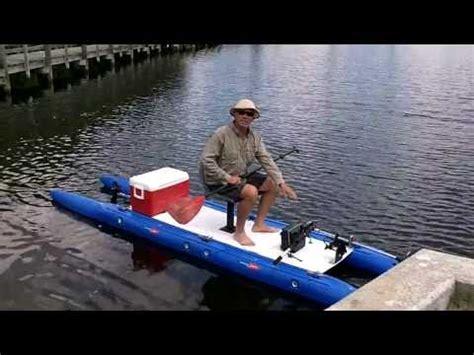 expandacraft boat modular fishing kayak pontoon boat doovi