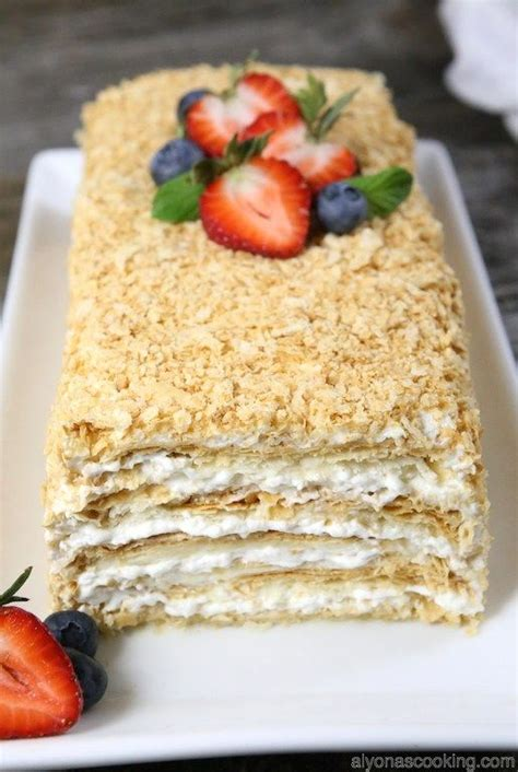 check out easy napoleon cake it s so easy to make