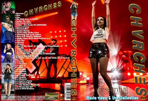 chvrches  video collection dvd website