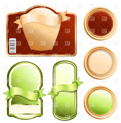product labels template images