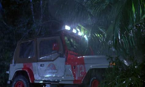 Jurassic Park 1 Jeep Jeep Wrangler Jurassic Park Replica Sells For 9k