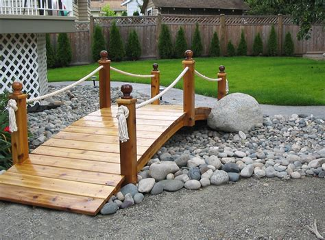 yard bridges garden bridge for the back yard handy 1 s workshop