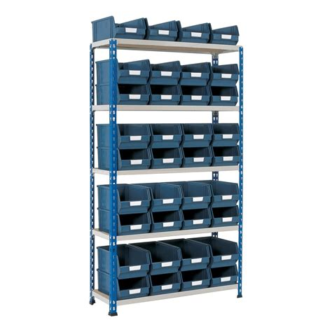 Small Parts Racking by Shelving With Small Parts Storage Bins Parrs