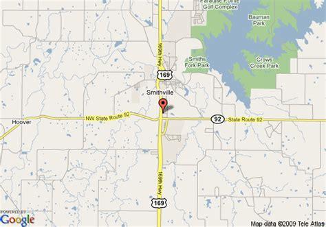 map of 8 motel smithville lake smithville
