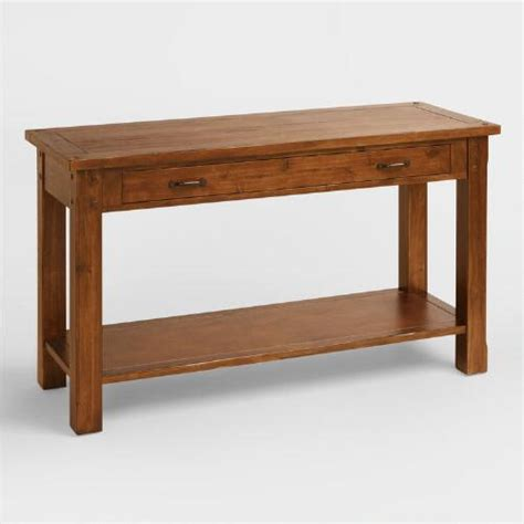 World Market Sofa Table by Madera Console Table World Market