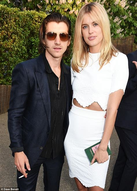 alex turner and girlfriend taylor bagley at serpentine