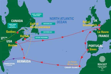 bermuda world map halifax canada sail on board