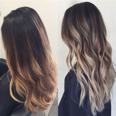 highlights vs ombre style 706 best ombr 201 balayage images on pinterest hairstyle