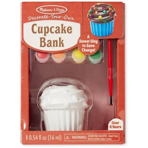 Decorate Your Own Cupcake Shop by Doug Decorate Your Own Cupcake Bank Craft Kit