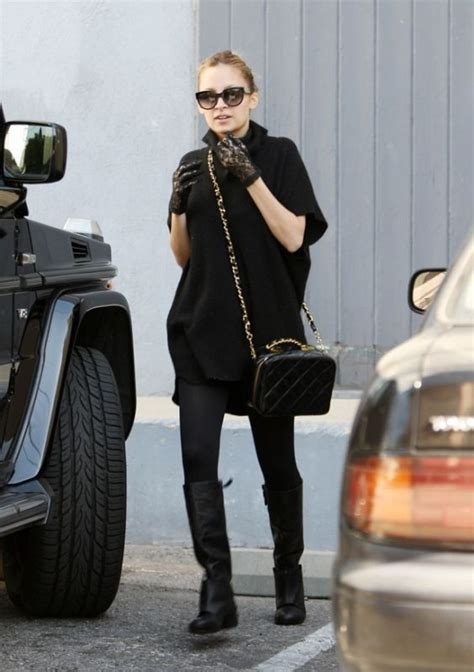 Richies Chanel Bag by Richie Wearing Chanel Lunch Box Style Bag Modern