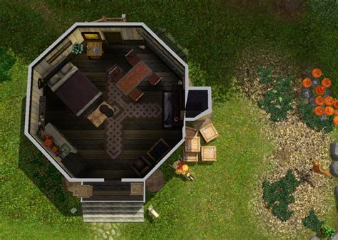4 Bedroom Floor Plan mod the sims hagrid 180 s hut