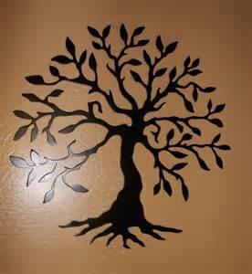 awesome black metal wall decor 2 metal tree wall