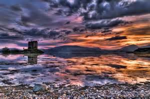 Castle Desk Scotland Landscape Lowe Aston