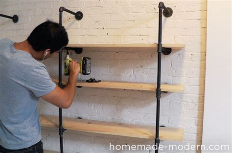 modern ep47 pipe shelves