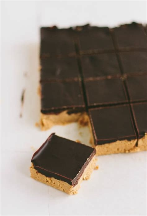 no bake peanut butter bars with chocolate on top easy no bake chocolate peanut butter bars eat more