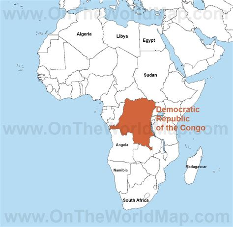 africa map congo democratic republic of congo map pictures to pin on