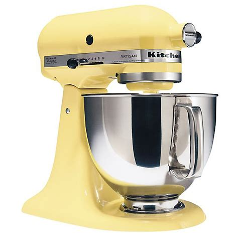 kitchen aid yellow top69tnn kitchenaid artisan series stand mixer in