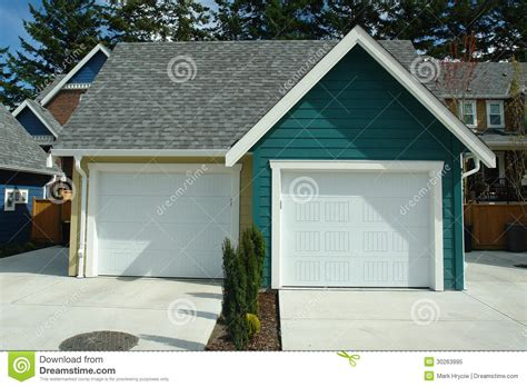 garage new house royalty free stock photo image 30263995