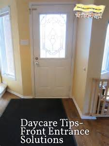 Running A Small Home Daycare How To Set Up Your Front Entrance Space How To Run A