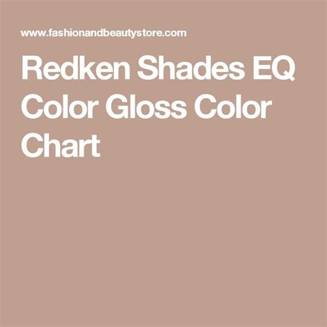 redken shades eq gloss color chart redken shades eq color gloss color chart makeup