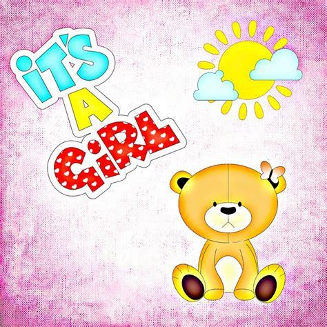 Baby Photo Cards Kartu Foto Bayi Kartu Selfie Bayi ilustrasi gratis bayi kelahiran gadis gambar gratis di pixabay 704984