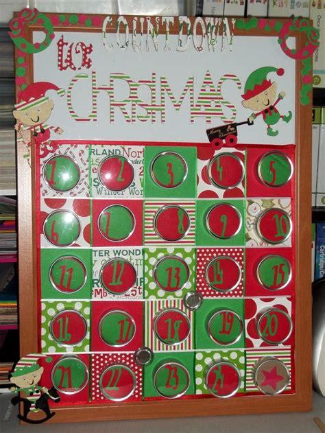 christmas countdown board using cricut my cricut crafts