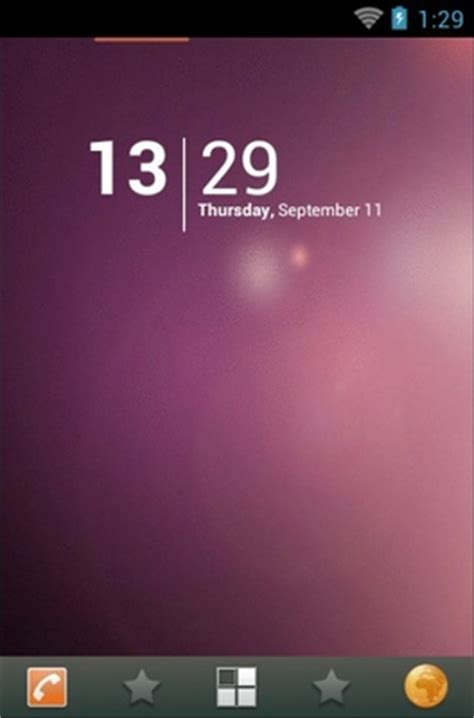 ubuntu themes for android phones ubuntu android theme for adw launcher androidlooks com