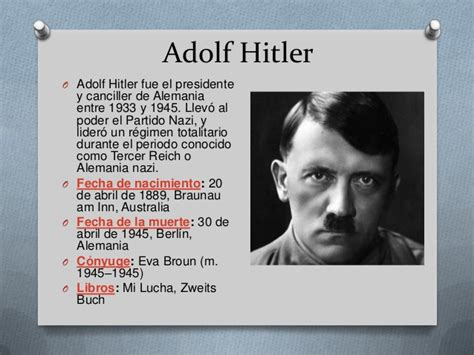 Adolf Hitler Biography Espanol | biograf 237 as de personajes de la historia