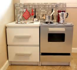 Modern Play Kitchen - 10 cool diy ikea play kitchen hacks kidsomania