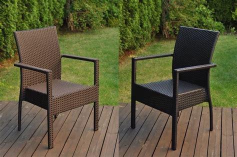 sedie da giardino rattan sedia da giardino in polyrattan economica e robusta in