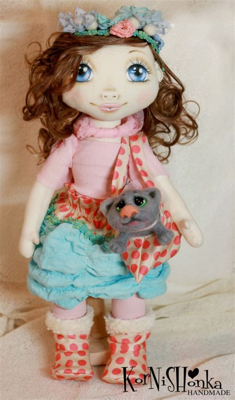 How To Make Handmade Dolls - handmade dolls by korneliya haralanova crafts and