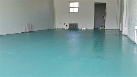 DIY Painted Particle Board Floor (Mmmm, Teal)   Dans le