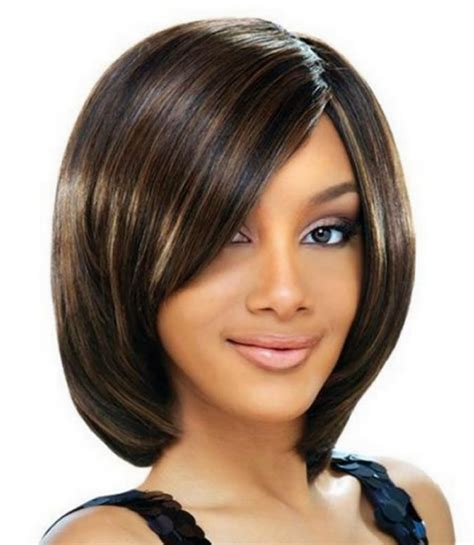side swept hairstyles for black black women bob hairstyles with side swept bangs pictures