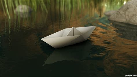 3d paper boat paper boat picture by palaekman for boats 3d contest