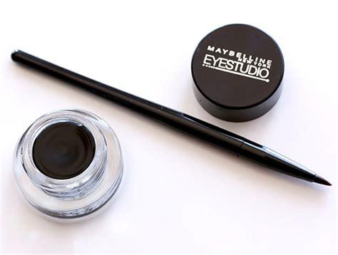 Maybelline Gel Eyeliner Eye Studio 10 maybelline eye studio lasting drama gel eyeliner in