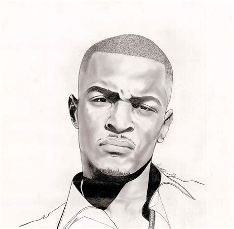 t i drawing by vincent turner