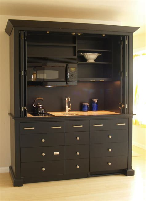 kitchen armoire cabinets get the idea of attractive all in one kitchen units for