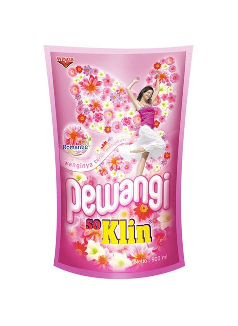 So Klin Softener Pink Refill 900ml so klin pewangi pakaian refill pink pch 900ml klikindomaret
