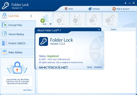 folder lock latest version full download folder lock 7 5 2 full version patch mhktricks