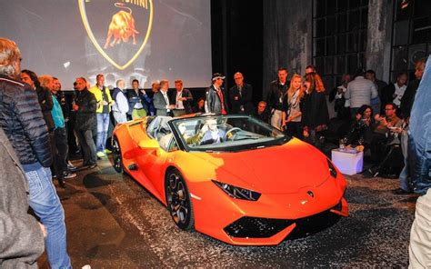 Lamborghini M Nchen by Lamborghini Huracan 610 4 Spyder Pr 228 Sentiert