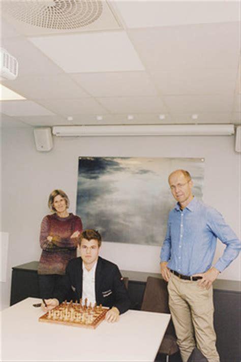 magnus carlsens parents  raising  worlds  chess player wsj