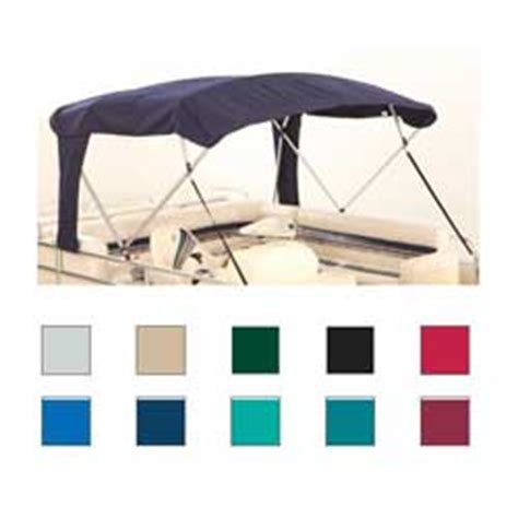 pontoon boat bimini top fabric only attwood buggy style square tube 4 bow pontoon bimini