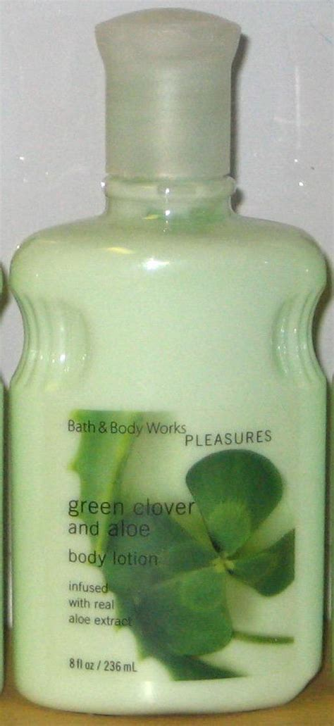 Ditch The Perfume And Lotion by Bath And Works Classics Green Clover And Aloe