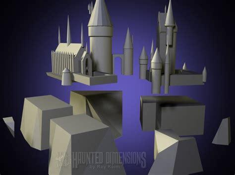Hogwarts Castle Papercraft - harry potter hogwarts castle papercraft wip papercraft