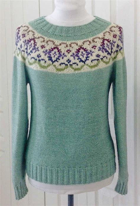 fair isle knit fair isle knitting projects experienced knitters will