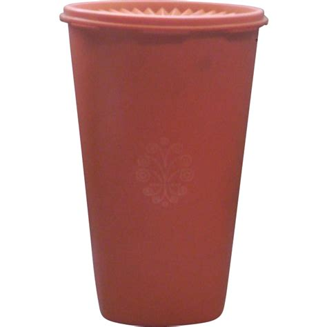 Tupperware 7 Circle tupperware orange canister 1222 4 from