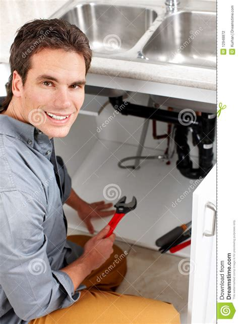 commercial woman plumber plumber stock photography image 12948872