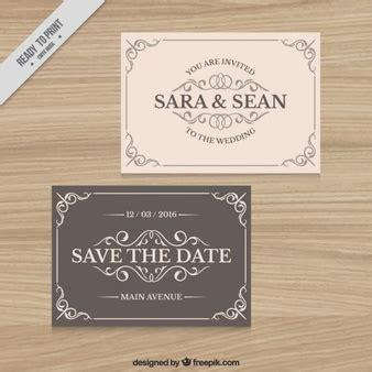 Kostenlose Vorlage Hochzeit einladung vorlage vektoren fotos und psd dateien