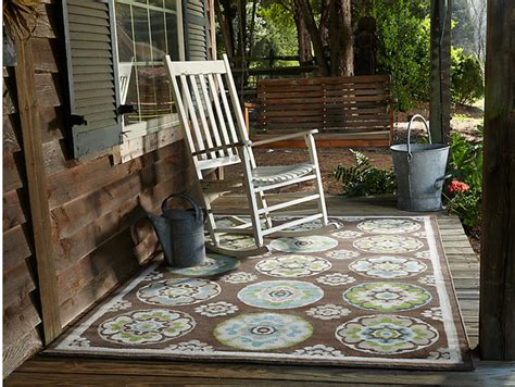 Rustic Outdoor Rugs Mohawk Home Clover Leaf Area Rug Rustic Outdoor Rugs Atlanta By Mohawk Home