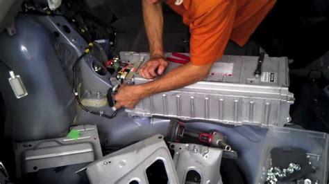 Toyota Yaris Hybrid Battery Prius Gen2 2004 05 06 07 08 09 Hybrid Battery Removal